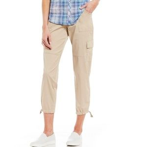NWT TOMMY HILFIGER CHELSEA CARGO ANKLE PANTS